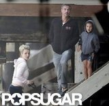 Britney Spears and Jason Trawick went to the beach with the boys.
