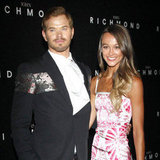Kellan Lutz and Sharni Vinson Pictures at Menswear Spring/Summer 2013 Fashion Week
