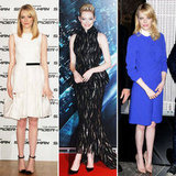 Emma Stone's Style Proves Flawless at The Amazing Spider-Man Tour