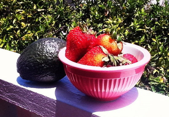 strawberry+avocado=