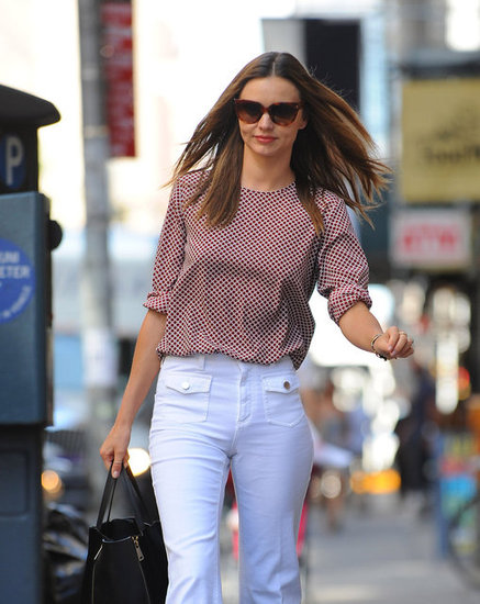 Miranda Kerr was out and about in NYC.