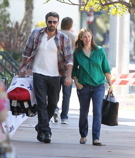 Ben Affleck and Jennifer Garner Step Out With Baby Samuel