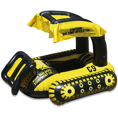 Bulldozer Baby Seat Rider Pool Float ($50)