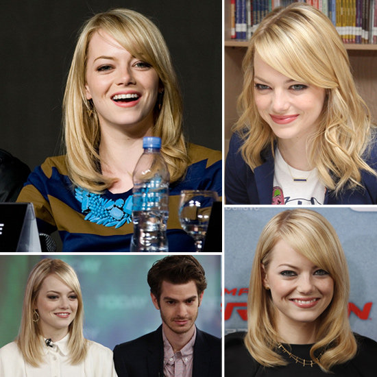See and Shop Emma Stone's Jennifer Meyer Jewels During the Amazing Spider-Man Tour