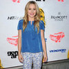 Kristen Bell Wearing Printed Jeans