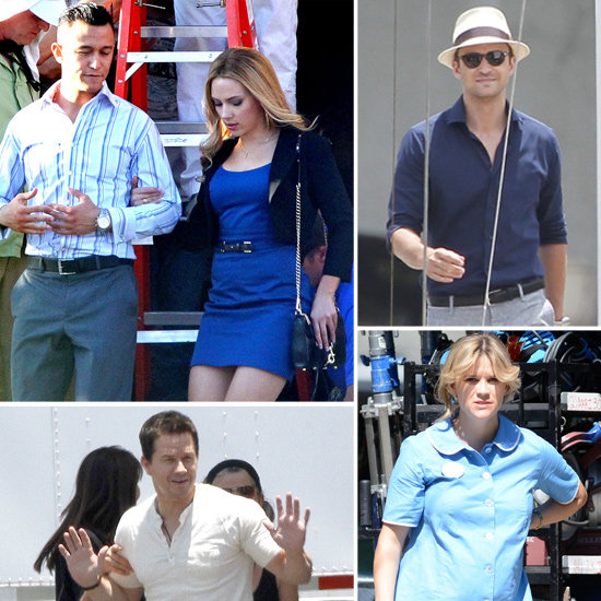Justin Timberlake, Scarlett Johansson, Reese Witherspoon, and More Stars on Set
