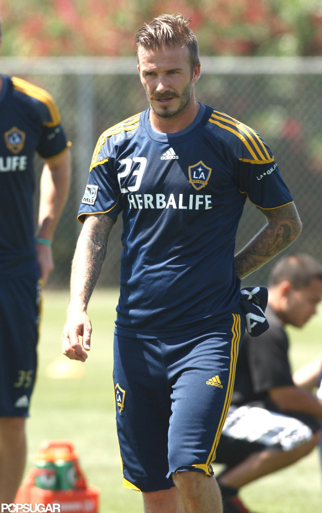 David Beckham Plays With the Galaxy, Not the UK Olympic Team