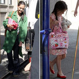 Katie Holmes and Suri Cruise Head Out For a Bright Summer Day