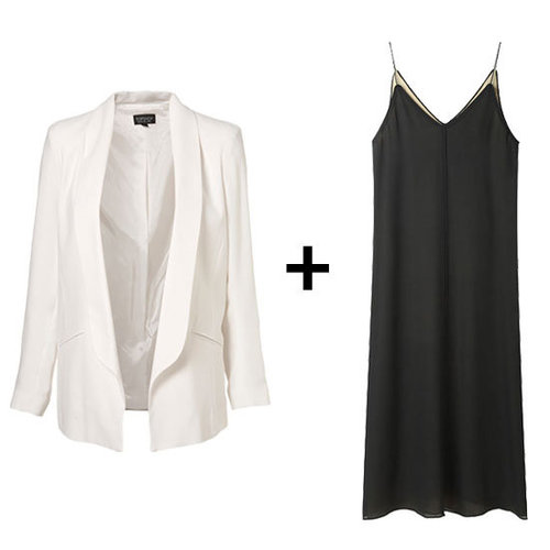 How to Wear Black and White Clothing Together