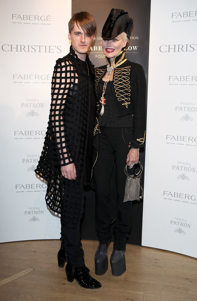 Gareth Pugh and Daphne Guinness