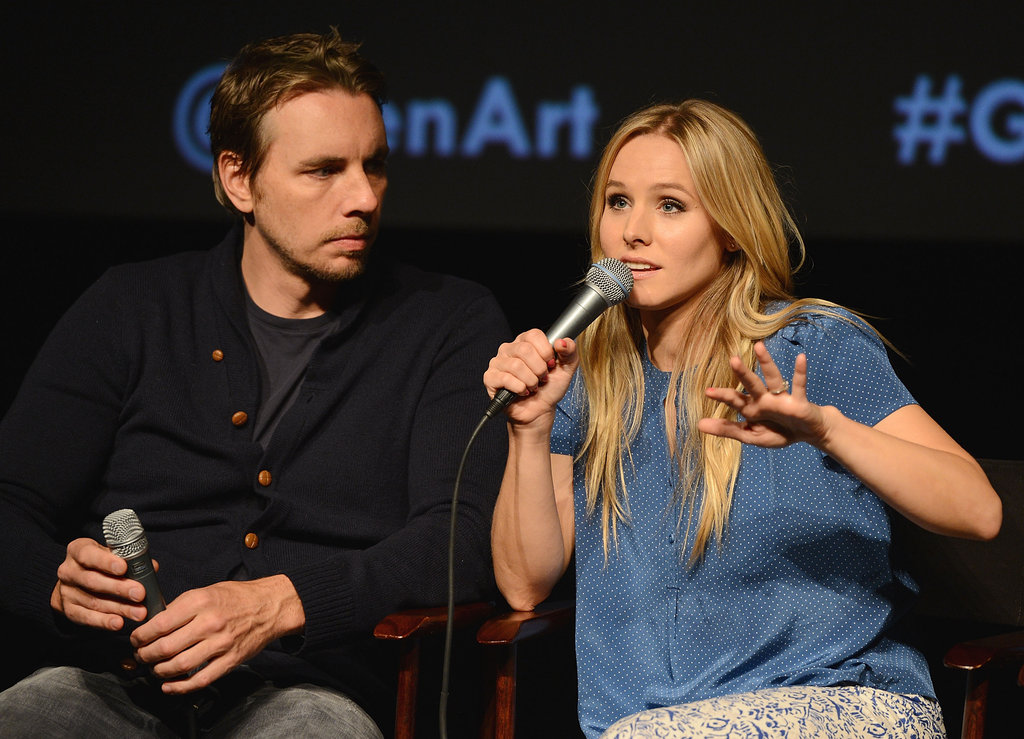 Kristen Bell was entertaining as she spoke to the audience at the screening.