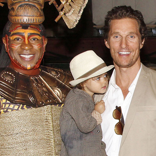 Matthew McConaughey Lion King Pictures