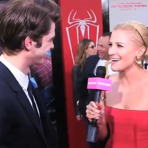 Andrew Garfield The Amazing Spider-Man Interview LA (Video)