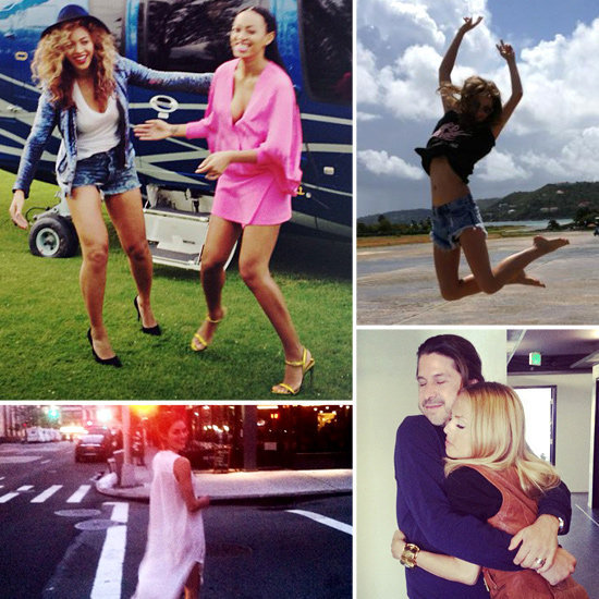 Our favorite fashionable celebs TwitPic their personal photos.
