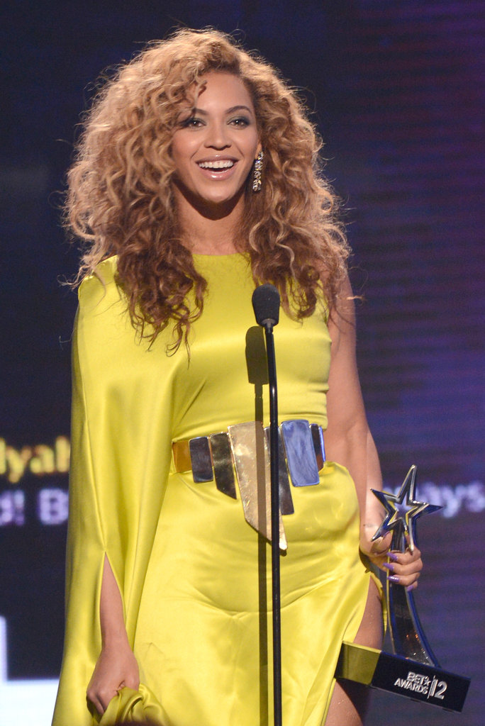 Beyoncé delivered her BET Awards acceptance speech.