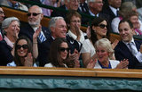 Kate Middleton and Pippa applauded during the match.
