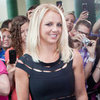 Britney Spears in a Black Dress at the X Factor Auditions