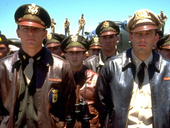 Josh Hartnett and Ben Affleck in Pearl Harbor