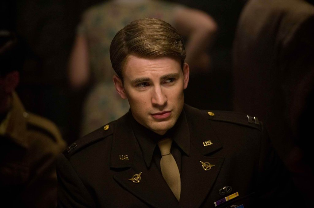 Chris Evans in Captain America