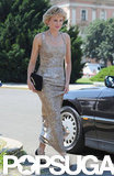 Naomi Watts stepped onto the set dressed as Princess Diana.