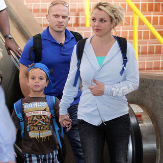 Britney Spears in Maui With Her Family