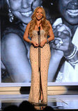 Mariah Carey took the stage at the BET Awards in LA.
