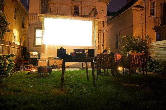 Backyard Theater Ideas : Outdoor Movie Theaters on Pinterest  Backyard Movie Theaters, Outdoor