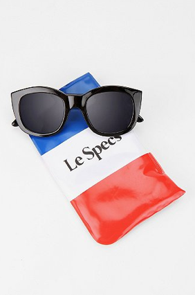 """These sunglasses won't break the bank, and I love that they are ever so slightly cat-eye shaped — cool all around!"" — Marisa Tom, associate editor Le Specs Runaways Sunglasses ($59)"
