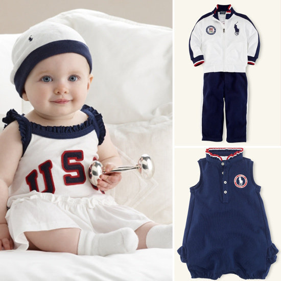 Dress Them Up in Ralph Lauren's 2012 Team USA Olympic Collection