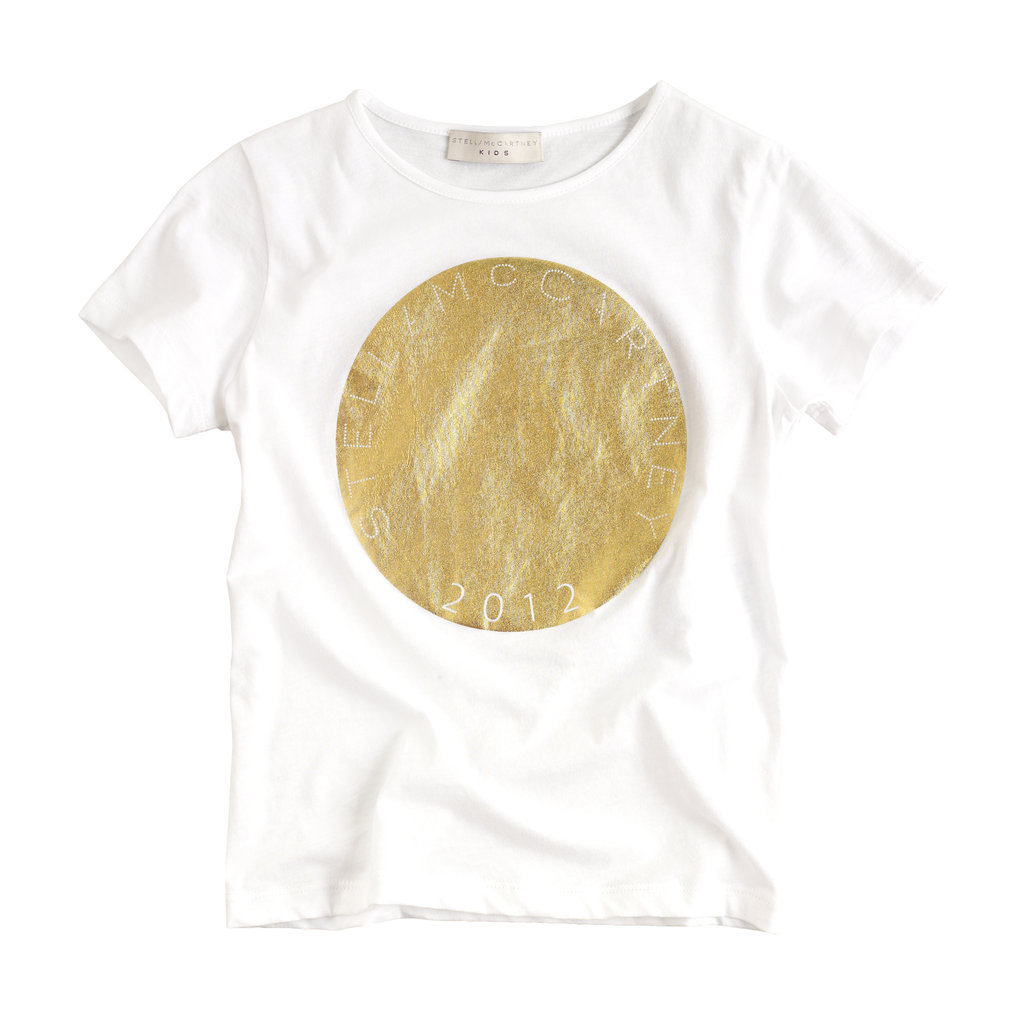 . . . Or Go For the Gold in Stella McCartney Kids' More Subtle Style