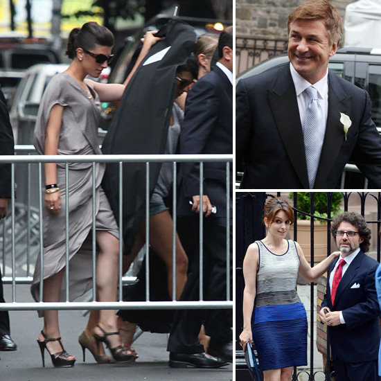 Alec Baldwin Marries Hilaria Thomas in Front of Tina Fey, Woody Allen and His Famous Family