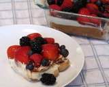 Easy Berry Tiramisu