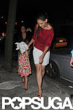 Katie Holmes went to get ice cream with Suri.