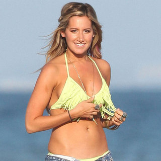 Ashley Tisdale Bikini Beach Birthday Pictures