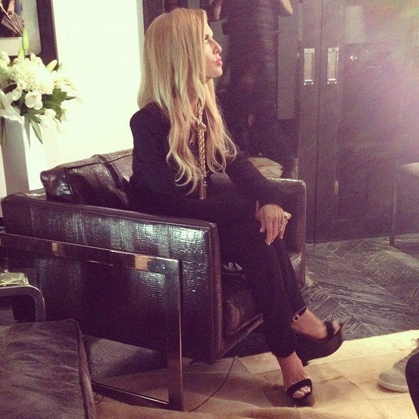 Rachel Zoe shot a video for her Neiman Marcus jewelry launch. Source: Twitter user RachelZoe