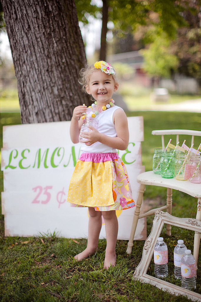 Lemonade Stand Apron Skirt ($19)