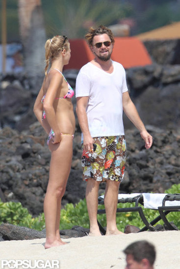 Leonardo DiCaprio celebrated Fourth of July with Erin Heatherton in Hawaii.