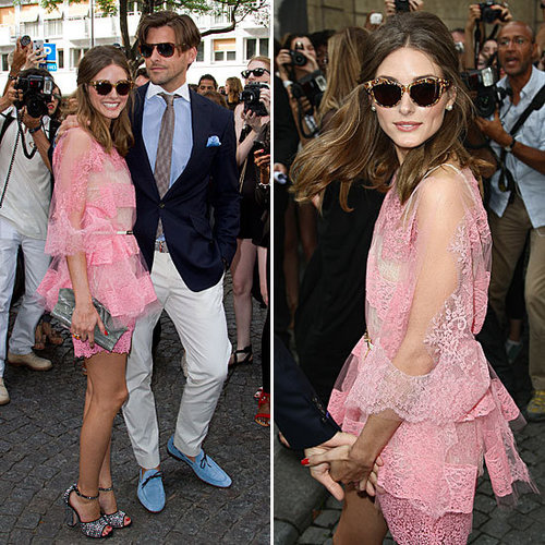 Olivia Palermo Wearing Pink Valentino From All Angles