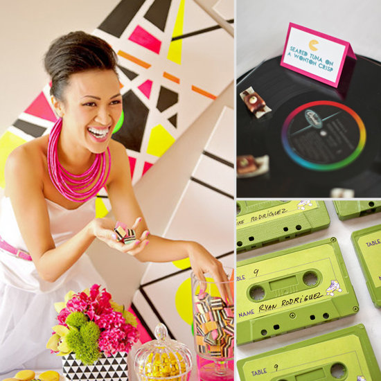 Weddings Through the Decades: Colorful '80s Inspiration