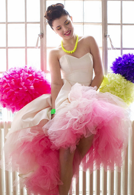 Neon Tulle Dress Netting