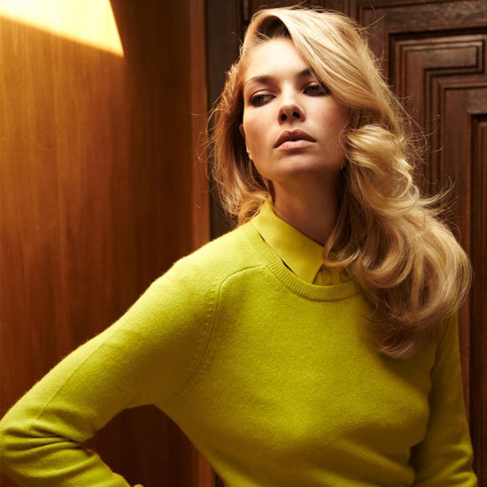 Jessica Hart Slips Into Something More Comfortable: Equipment's Luxe Cashmere Collection