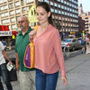 Katie Holmes Holmes &amp; Yang at Fashion Week Plans