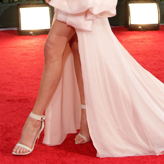 See why celebs are smitten with Givenchy's ankle-strap heels.