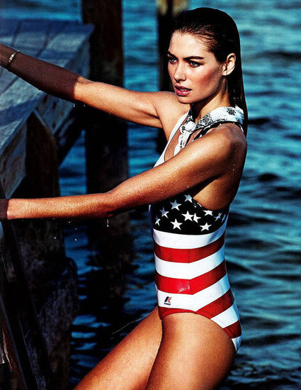 This Fourth of July, we celebrated with fireworks, BBQs, and our favorite patriotic fashion spreads.