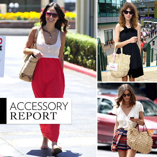 Trend alert: Straw bags are the perfect counterpart for your laid-back Summer look.