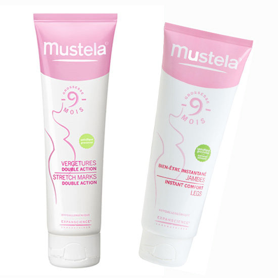 Mustela Stretch Marks Double Action and Instant Comfort Legs