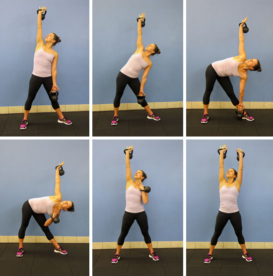 Kettlebell Windmill