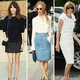 Paris Couture Fall 2012 Fashion Week Best Dressed Brits