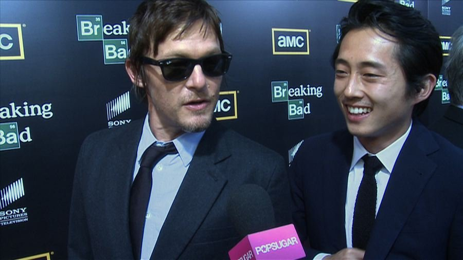 The Walking Dead's Norman Reedus and Steven Yeun Size Up Their Zombie Survival Skills