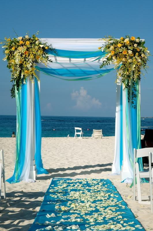 Diy Wedding Arch Beach Elegant Beach Wedding ...
